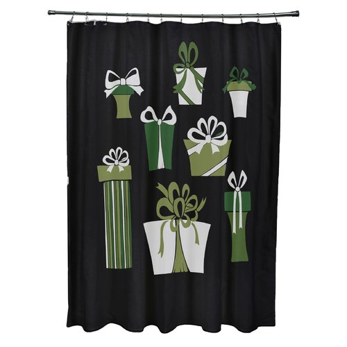The Holiday Aisle Present Time Shower Curtain