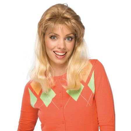 Tonya Harding Wig Costume I Tonya Movie 90s 80s Blonde Bangs Women Figure Skater (Movie Wigs)