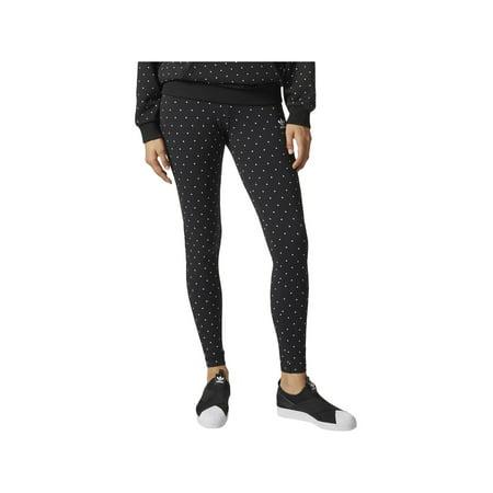 5e92116e4b429 adidas - adidas Originals Womens Polka Dot Yoga Athletic Leggings -  Walmart.com