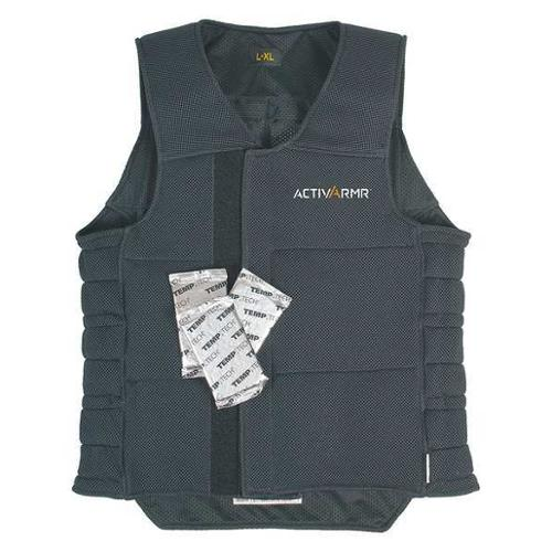 TRELLCHEM 97-610 Cooling Vest,L/XL,26-1/2 in.L,Dark Blue G9403642