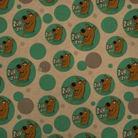 Scooby-Doo Ruh Roh Premium Kraft Gift Wrap Wrapping Paper Roll