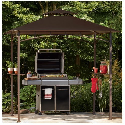 Sunjoy Replacement Canopy for Grill Gazebo  sc 1 st  Walmart & Grill Canopies