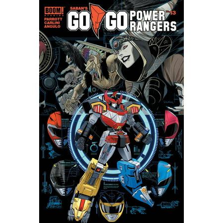 Boom Studios Go Go Power Rangers #13 Shattered