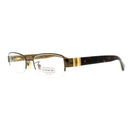 COACH Eyeglasses HC5027B CECILY 9094 Brown Tortoise 52MM