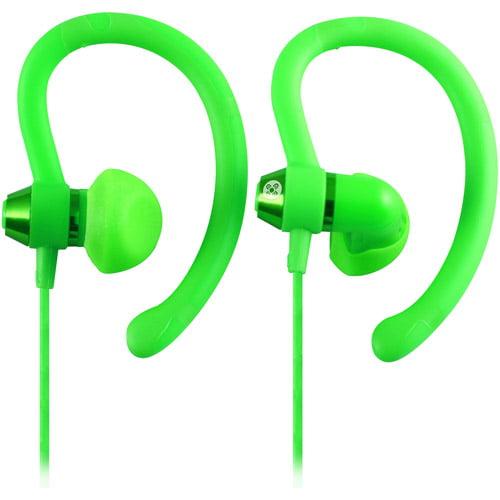Moki 90-Degree Sports Earphones, Assorted Colors