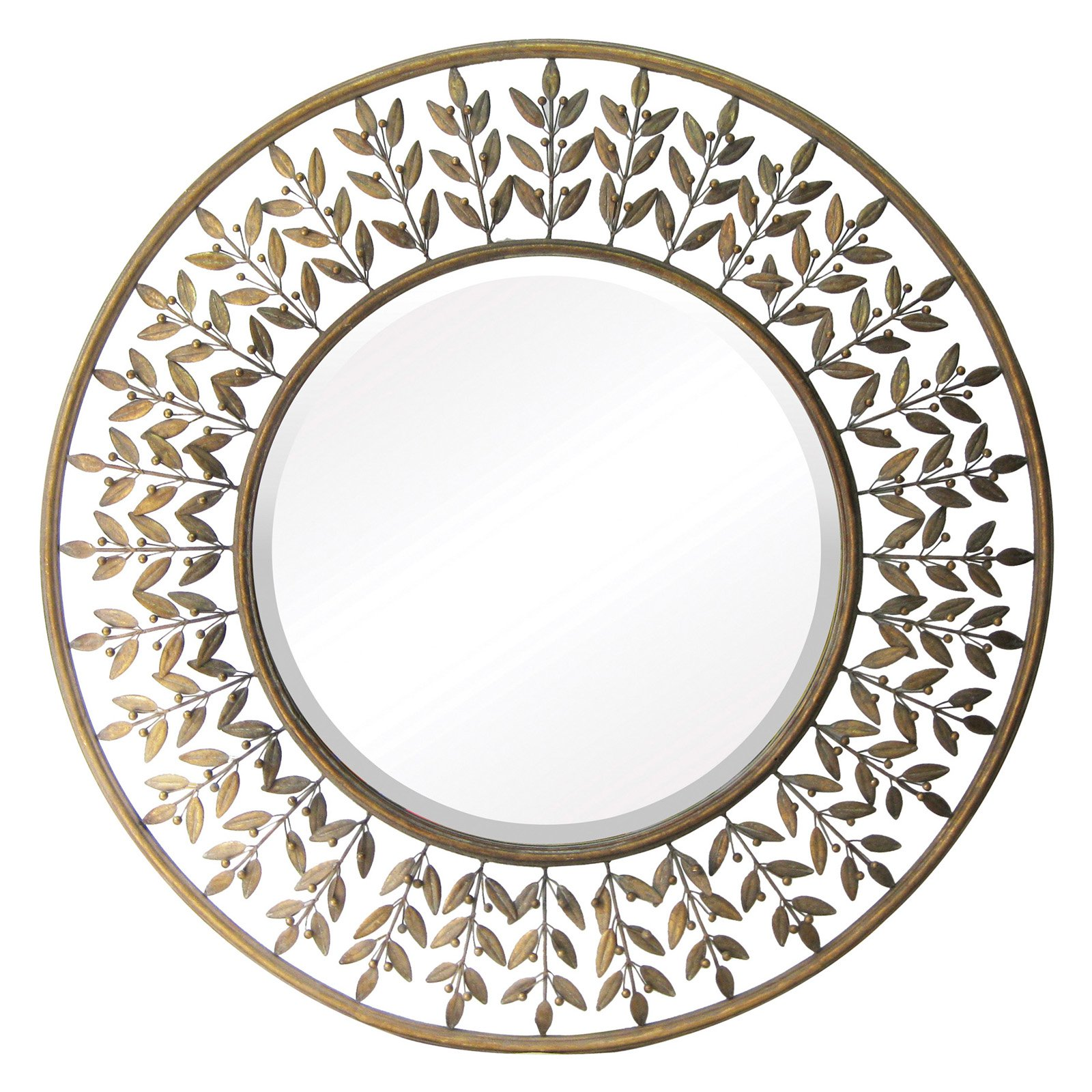 Elk Lighting Willow Brook Decorative Wall Mirror - 39 diam. in.