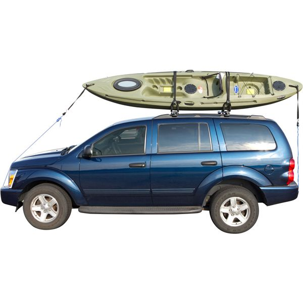Kayak On Roof >> T Rack Kayak Canoe Roof Carrier Rack Walmart Com