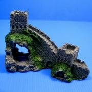 "Great WallAquarium Ornament 6"" - Decoration Cave wood Fish Tank"