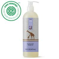 Uniquely J Tear-Free Baby Shampoo & Body Wash, Calming Lavender, 16 oz