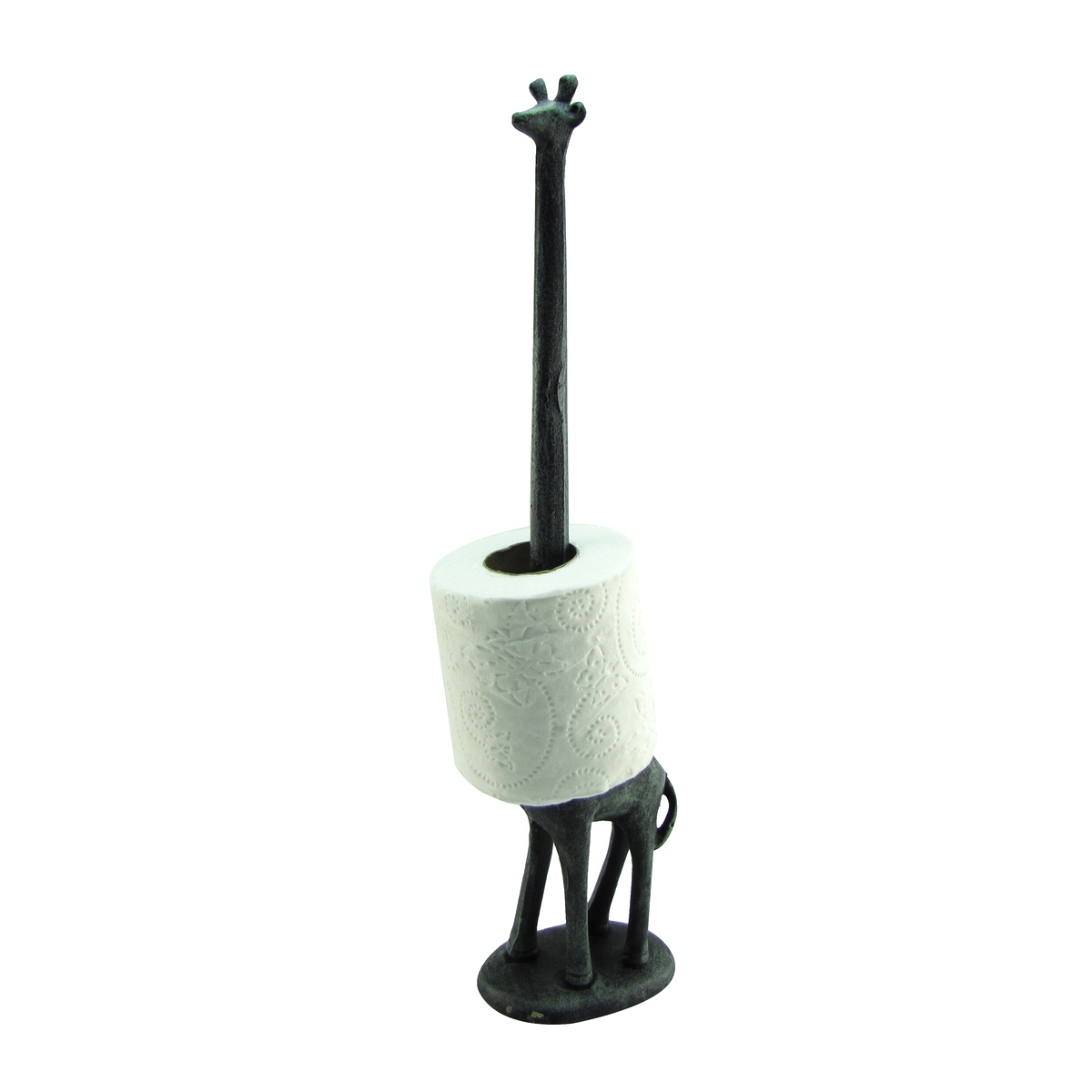 Metal Giraffe Bathroom Toilet Tissue Roll/Kitchen Paper Towel Holder Home  Decor   Walmart.com