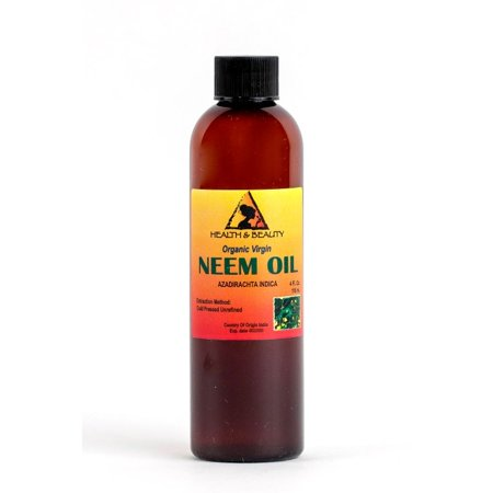 NEEM OIL ORGANIC UNREFINED CONCENTRATE VIRGIN COLD PRESSED RAW PURE 4