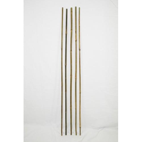 Backyard X-Scapes Bamboo Poles Natural Garden Stake (Set of 25)