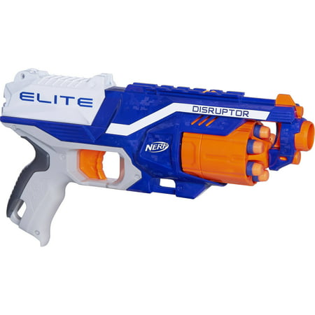 Nerf N-Strike Elite Disruptor Blaster with 6 Nerf Elite