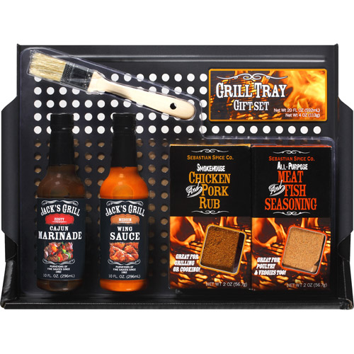 Grill Tray Gift Set