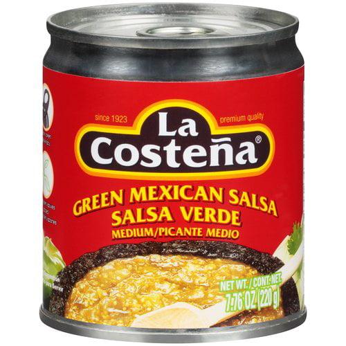 La Costena Medium Green Mexican Salsa, 7.76 oz