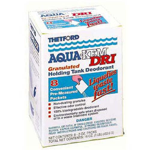 Thetford Corp 20720 8 Pack 2 Oz Aqua-Kem Dri