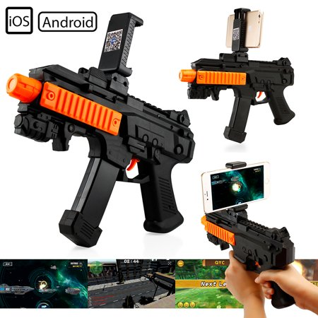 Ar Gaming Gun Reality Console With Ar Games App Bluetooth Compatible With All Smart Cell Phones Ios Android Ar Shooting Games Gun Augmented Reality Bluetooth Game Gun Controller