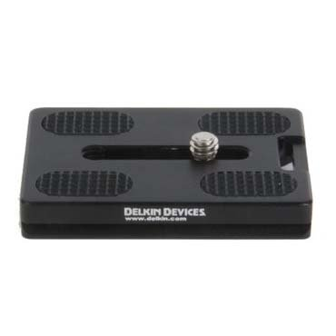 Plated Gecko - Delkin Fat Gecko Quick Release Plate DDMOUNT-AC-QRKLS-P