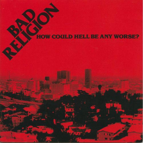 """80-85 contains Bad Religion's first full-length album, HOW COULD HELL BE ANY WORSE?..., their first EP, and additional rare material.<BR>Bad Religion: Greg Graffin (vocals); Mr. Brett, Greg Hetson (guitar); Jay Bentley, Tim Gallegos (bass); Pete Finestone (drums).<BR>Principally recorded in Los Angeles, California between 1980 and 1985.  Includes liner notes by Greg Hetson.<BR>For newer Bad Religion fans curious about their earlier work, the 1991 compilation 80-85 is highly recommended. As expected, the songs are a lot rawer than their later releases, but a lot of the same musical elements that would be perfected in the 1990s by the band (biting social commentary, melodic twists and turns) are present. Some fans consider this era """"the real Bad Religion,"""" as evidenced by such tracks as """"Yesterday,"""" """"New Leaf,"""" """"Along the Way,"""" and """"Bad Religion."""""""