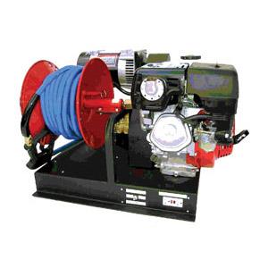 Mobile Wash System w/Generator & 90 Gallon Water Tank