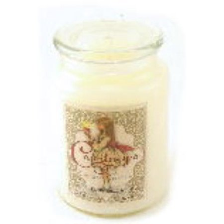 Fresh Vanilla   Courtneys Candles Maximum Scented 26Oz Large Jar Candle   Burns 200 Hours