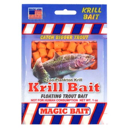 Magic Bait Trout Bait, Orange