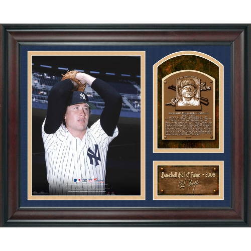 "Goose Gossage New York Yankees Fanatics Authentic Framed 15"" x 17"" Baseball Hall of Fame Collage with Facsimile Signature - No Size"