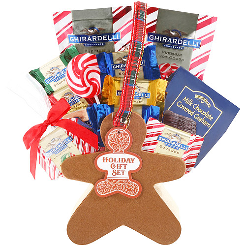 Alder Creek Ghirardelli Treats Gift Basket