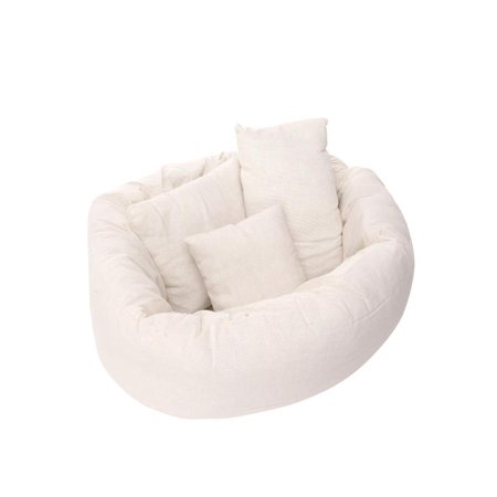 4PCS/Set Newborn Photography Basket Filler Wheat Donut Posing 4PCS/Set Props Baby Pillows
