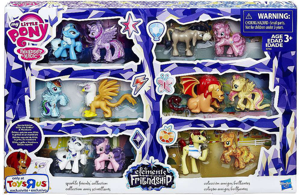 Twilight Sparkle Friends Collection Mini Figures My Little Pony by Hasbro