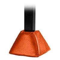 First Team FT74 Foam-Vinyl Gusset Pad for 4 & 5 in. Crank Adjust Base Only, Orange