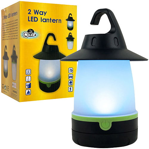 Happy Camper 2-Way LED Lantern by TRADEMARK GAMES INC