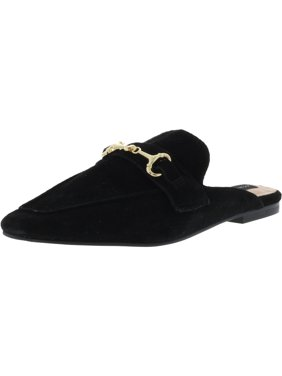 11be1a87c2 Product Image Steve Madden Women's Razzi Suede Black Mules - 6M