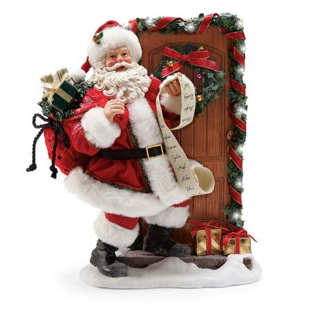 Dept 56 Possible Dreams Santa 6000699 Knock Knock Whos There 2018 ()