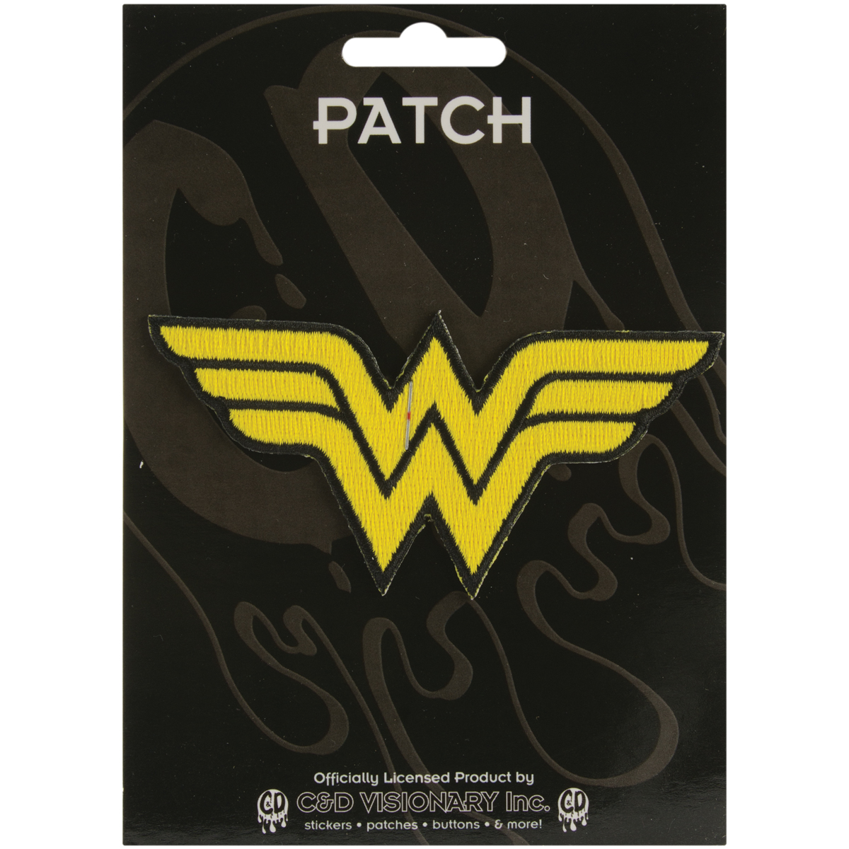 DC Comics Super Hero Patches Iron-On Applique Patch, Wonder Woman Insignia