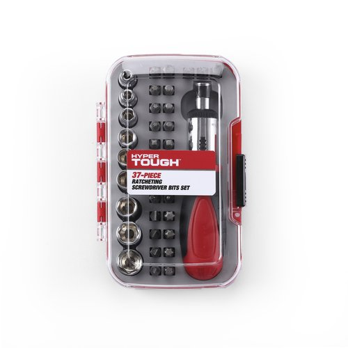 Ultra Steel Screwdriver Bit Set, 37pc