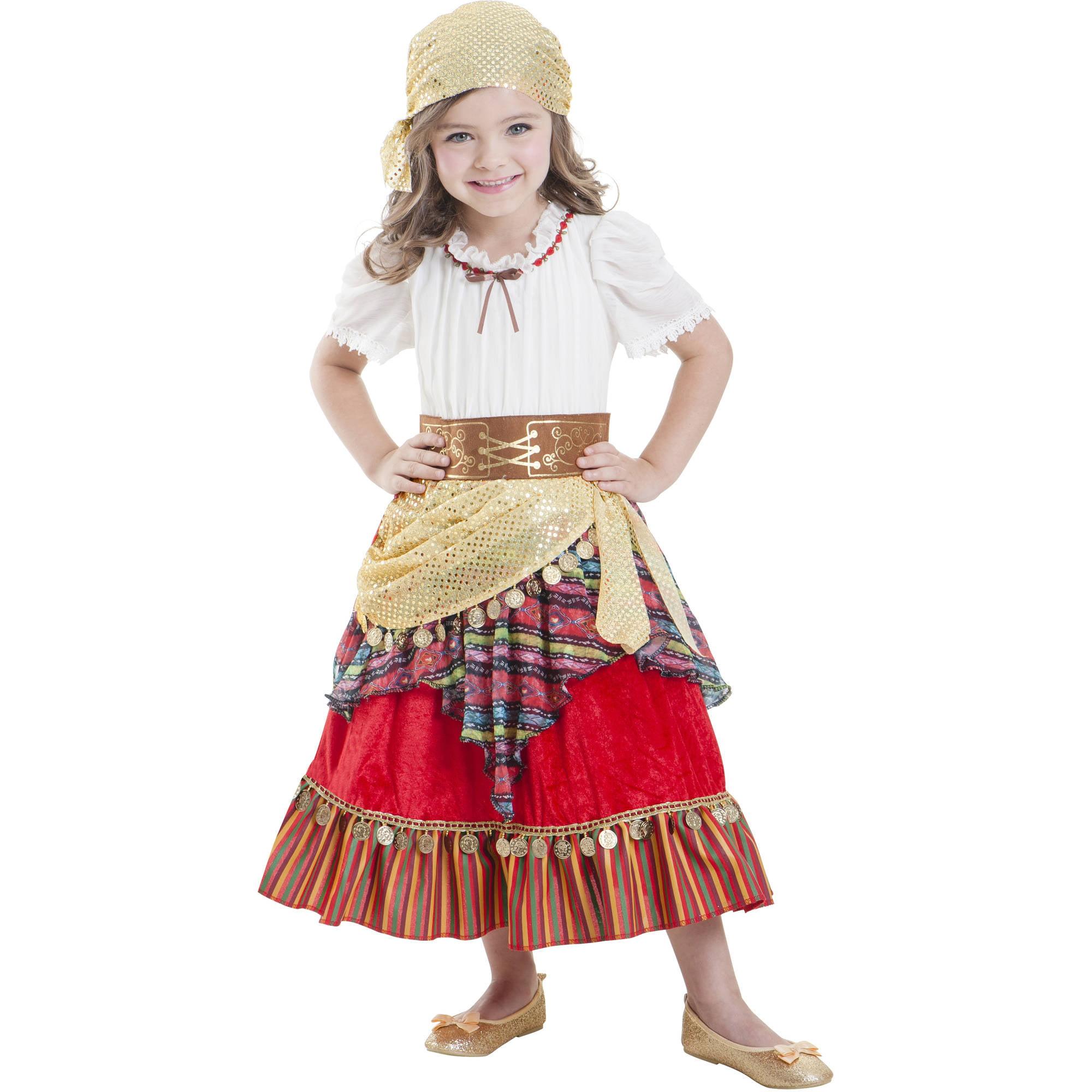sc 1 st  Walmart & Gypsy Cutie Child Halloween Costume - Walmart.com