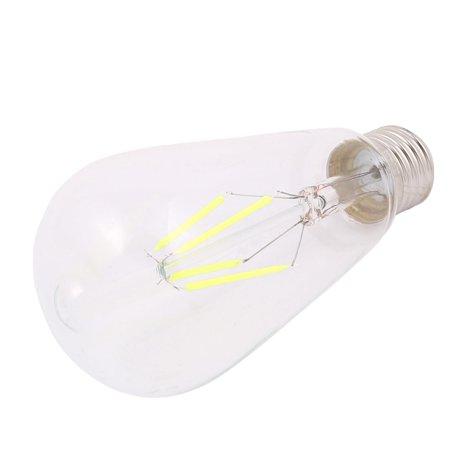 Vert de base du filament E27 de l'ampoule ST64 du style LED de CA 220V 4W Edison - image 2 de 2