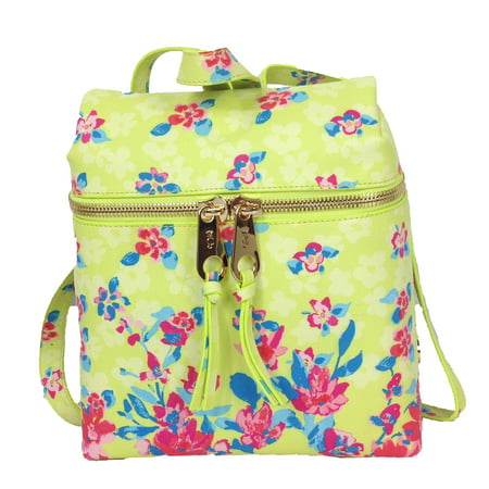Juicy Couture Island Blooms Mini Backpack, Lemon Pop (Juicy Couture Handbags And Purses)