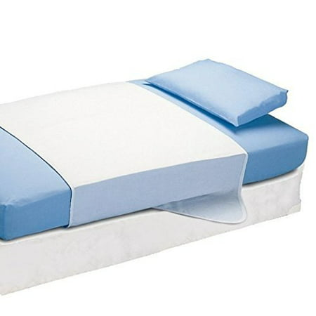 Saddle Style Soaker Mattress Pad - Will Absorb 6 Cups of Liquid (34 X 36)