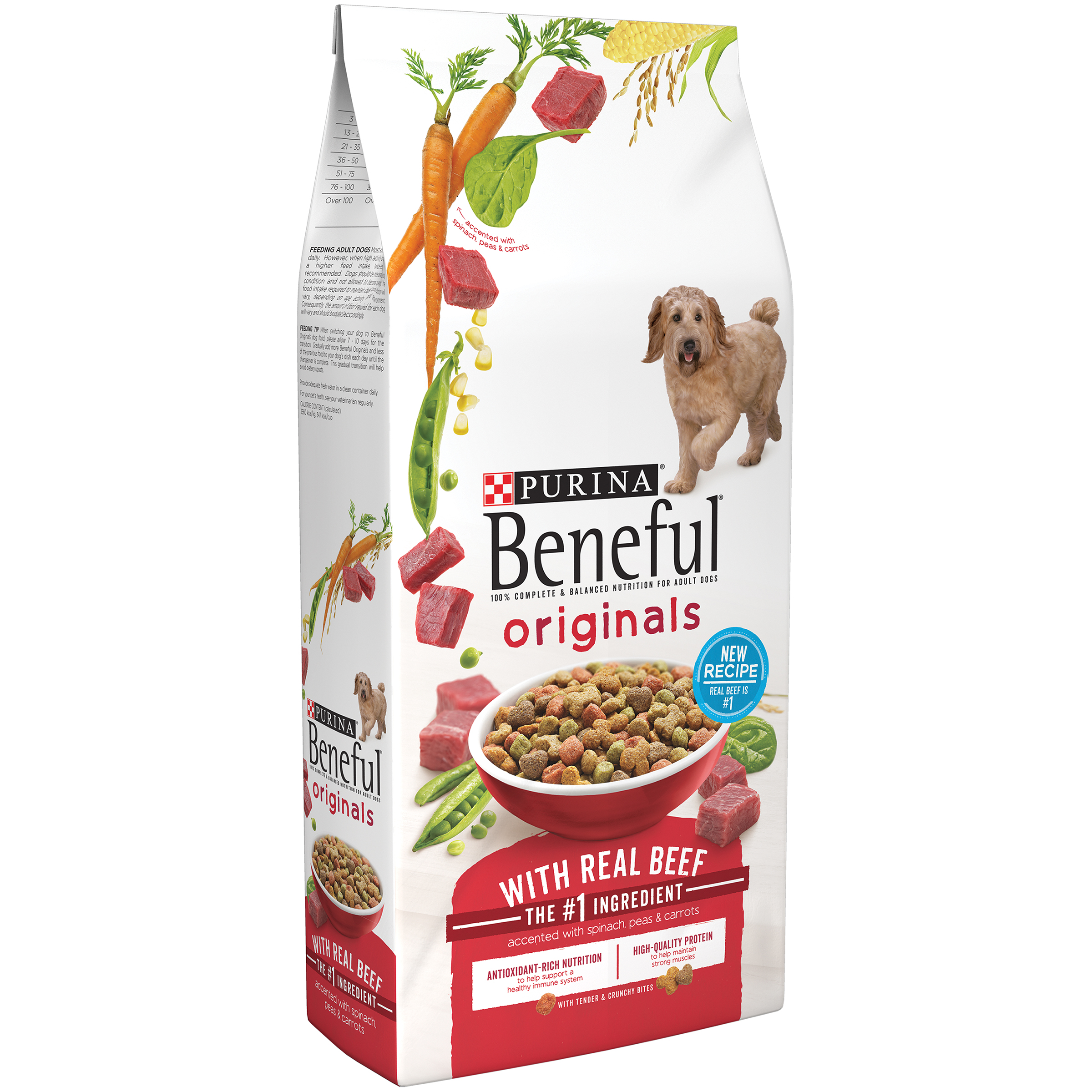 Purina Beneful Originals With Real Beef Dry Dog Food 3.5lb. Bag