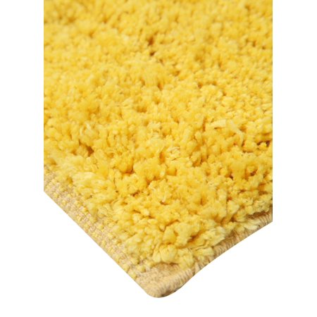 Addy Home Plush Collection Bath Rug or Runner - YELLOW (24 in x 60 in)