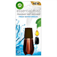 Air Wick Essential Mist, Fragrance Essential Oils Diffuser Refill, Fresh Water Breeze, 1ct, Air Freshener