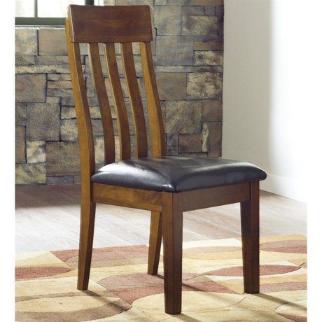 Ashley furniture ralene dining chair in medium brown for Meuble ashley circulaire