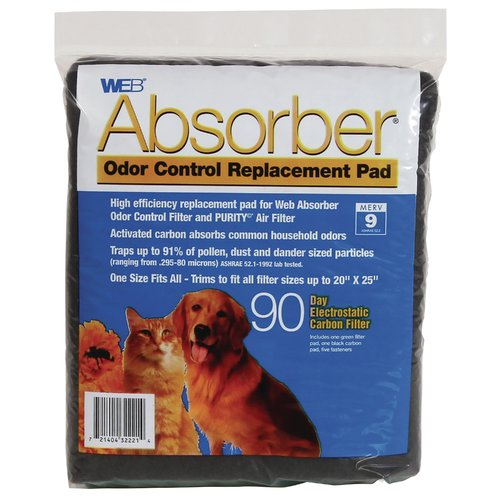 WEB Products Absorber Odor Control Replacement Pad