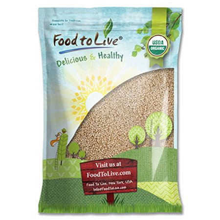 Food To Live  Organic Royal White Quinoa  Raw  Whole Grain  Non Gmo  Bulk   10 Pounds