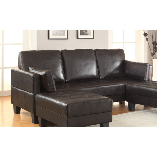 Wildon Home Sleeper Sofa & 2 Ottomans - Walmart.com