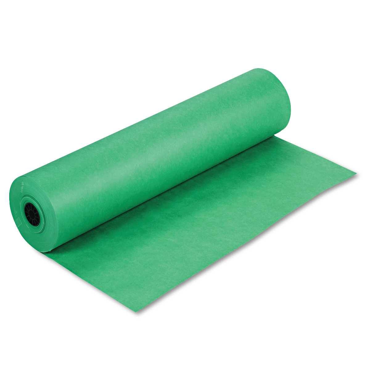 """Pacon Spectra ArtKraft Duo-Finish Paper, 48 lbs., 36"""" x 1000 ft, Bright Green"""