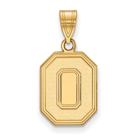 Ohio State Medium (5/8 Inch) Pendant (Gold Plated)