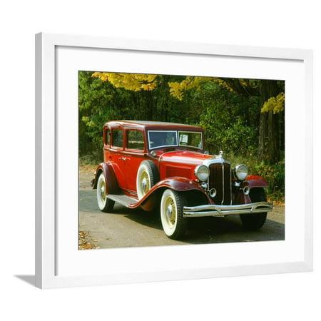 1932 Chrysler Imperial (1932 Chrysler Imperial 8 Framed Print Wall Art)